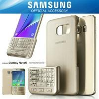 Samsung Galaxy Note 5 Keyboard Cover Case Original - Gold Platinum