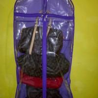 GOOD QUALITY Hanging Bag Closet Jumbo Tempat Tas Guess
