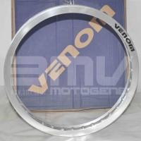 harga Velg Venom Silver Ukuran 140 Dan 140 Ring 17 (set Depan Dan Belakang) Tokopedia.com