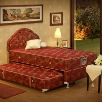 Central Kasur Springbed 2in1 Deluxe Florida 120x200-Full Set 120 x 200