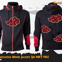 harga Akatsuki Assasin Mode Jacket (jaket Naime Naruto - Ja Nrt 46) Tokopedia.com
