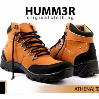harga Sepatu Original Adventure Tracking Hiking Outdoor Boot Pria Hummer Tokopedia.com