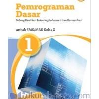 PEMROGRAMAN DASAR SMK BID. TEKOMINFO JL.1/K2013-ERLANGGA