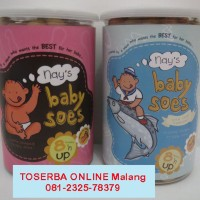 Cemilan Sehat Untuk BAYI & BALITA - BABY SOES Paket ORIGINAL & SALMON