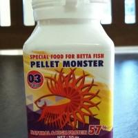 harga Pellet Monster 03pro, Untuk Ikan Cupang Usia 3 Bln Keatas Atau Indukan Tokopedia.com