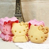 Jual Cetakan Alat Cetak Pemotong Kue Kering Model Karakter Hello Kitty 56 Murah