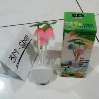 Lampu Jamur Avatar Mini Sensor Cahaya