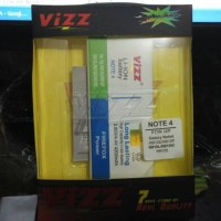 Galaxy Note 4 Battery Vizz 4200mAh Samsung Double Power Baterai N910