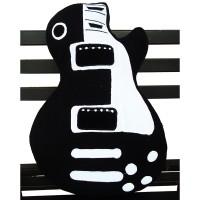 harga Bantal Gitar Gibson Les Paul Hitam Tokopedia.com