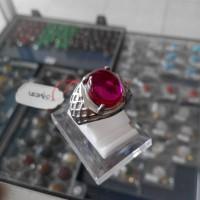 harga Cincin Titanium Batu Merah Delima Siam Tokopedia.com