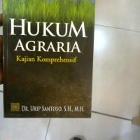 harga Hukum Agraria, Kajian Komprehensif; Urip Santoso Tokopedia.com