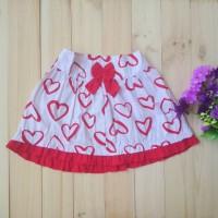 Rok Anak Red Love Skirt