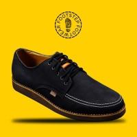 harga SEPATU CASUAL PRIA FOOTSTEP DERBY BLACK - FOOTSTEP FOOTWEAR Tokopedia.com