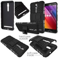 harga Asus Zenfone 2 Ze551ml (5.5 Inch) - Heavy Duty Rugged Armor Stand Case Tokopedia.com