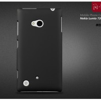 Rubberized Hardcase Hard case Nokia Lumia 720 - Hitam
