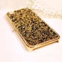 harga Luxury Bling Diamond Rhinestone Fashion Gold Case For Iphone 5 5s Tokopedia.com