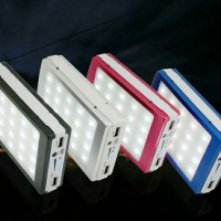 harga Power Bank Solar Cell Panel 99000mah Lampu Emergency 20 Tenaga Surya Tokopedia.com
