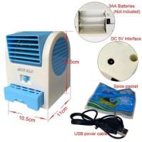 kipas duduk/ac mini/mini fan/kipas laptop/kipas meja aroma terapi