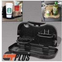 Car Seat Drink Holder and Food Tray