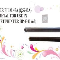 harga Fuser Film 45a (q5945a) Metal For Use In Laserjet Printer Hp 4345 Mfp Tokopedia.com