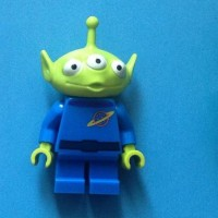 Lego Original Alien Little Green Man Toy Story