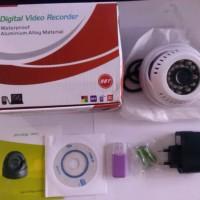 harga Kamera Cctv Dome Stand Alone Cmos 600tvl Micro Sd Warna Putih Tokopedia.com