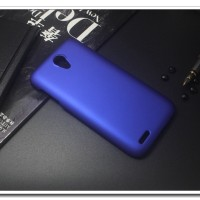 Rubberized Hardcase Hard Case Lenovo S650 - Biru