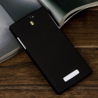Rubberized Hardcase Hard case OPPO Find 5 X909 - Hitam