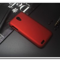 Rubberized Hardcase Hard Case Lenovo S650 - Merah