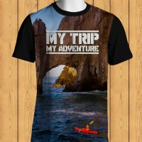 Kaos 3D My Trip My Adventure Cliff