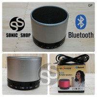 Speaker Portable Advance Bluetooth Silver