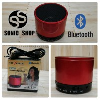 Speaker Portable Advance Bluetooth Merah