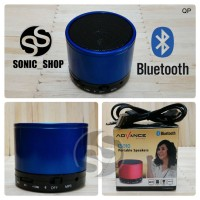 Speaker Portable Advance Bluetooth Biru
