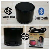 Speaker Portable Advance Bluetooth Hitam