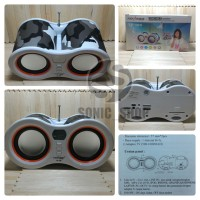 Speaker Portable Advance Extra Power Sound 100