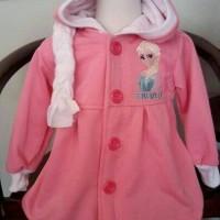 Jaket Frozen Pink Kepang