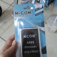 Baterai Mcom Cross Evercross A66s 5000mah Double Power