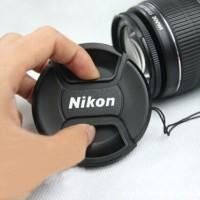 harga Lens Cap / Tutup Lensa Nikon - 52mm 55mm 58mm 62mm 67mm 72mm 77mm Tokopedia.com