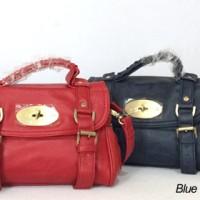 TAS BRANDED MULBERRY ALEXA MINI BLACK,RED & BLUE