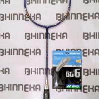 Jual Raket Badminton Yonex Nano Speed Sigma 8 Free Senar Yonex BG 6 Murah