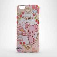 piggi girls cute pink Hard case Iphone case dan semua hp