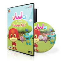 DVD Uwa and Friends Volume 01