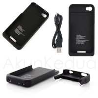 External Battery Case for iPhone 4/ Iphone 4S (1900mAh)