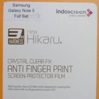 Samsung Galaxy Note 5 Anti Gores Fullset Afp Clear, Screen Guard