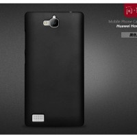 Rubberized Hardcase Hard Case Huawei Honor 3c - Hitam
