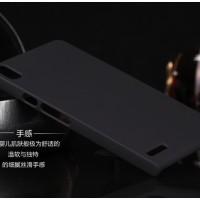 Rubberized Hardcase Hard case Huawei Ascend P6 - Hitam