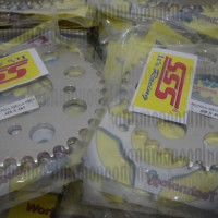 harga Gear Sss (belakang) 428:megapro,nmp,cb150r,cbr150,tiger:size 38-40t Tokopedia.com