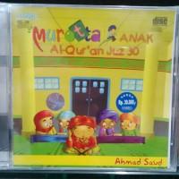 CD MUROTTAL ALQURAN ANAK JUZ 30 AHMAD SA'UD