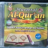 CD MUROTTAL ALQURAN SURAT PILIHAN ABDURRAHMAN AS SUDAIS VOL.2
