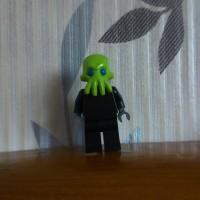 Lego part head alien trooper series 13- LEGO Minifig Part